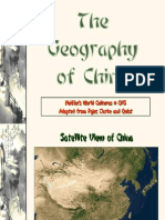 Geography of China World Cultures 2009-2010