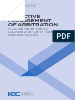 ICC International Arbitration Guide for in-House Counsel