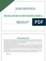 Codigo de Convivencia Bolivia