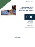 File_6354_características de La Producción Escrita de Niños de 3ro a 8vo Básico