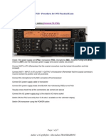 Aide Memoire for ON3 Amateur-Radio Practical Exam at ON5UB BXE - Illustrated Guide by ON3RT