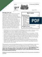 Community Bulletin - August 2014