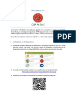 Manual de Usuario CIP Movil
