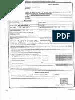 P.F. Claim Form