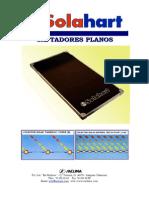 Catálogo Técnico Saclima Colectores Planos Solahart 2001-2002