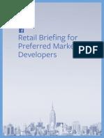 Facebook Retail Brief for PMDs