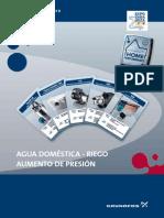 Catálogo Bombas Grundfos Agua Fría y Aumento de Presión 2008