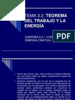 Teorema Del Trabajo y La Energía