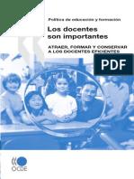 Los Docentes Son Importantes OCDE