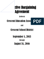 cea bargaining agreement