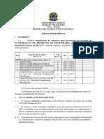 Termo de Referência - HGuT - Orçamento