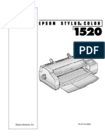 Manual Técnico y PPL Stylus 1520