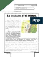1er Año - Lenguaje - Guia Nº6 - Los Barbarismos