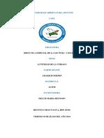 Didáctica Especial de La Lectura y Escritura, Actividad I