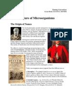 Nomenclature of Microorganisms