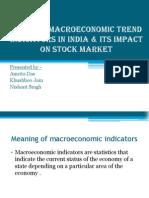 Current Macroeconomic Trend Indicators in India