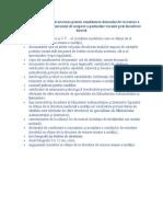 Actele Şi Documentele Necesare Pentru Constituirea Dosarului de Recrutare a Candidaţilor Pentru Concursul de Ocupare a Posturilor Vacante Prin Încadrare Directă