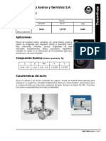 Catalogo Acero SAE-1045 Thyssen