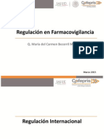 Regulación en Farmacovigilancia 2013