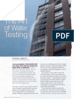The Art of Water Testing