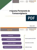 Programa Permanente de Farmacovigilancia