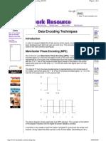 Cableado Estructurado Cable Encoding