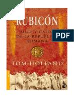 Rubicon Auge y Caida Del Imperio Romano