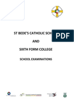 School Examination Data Booklet 2009