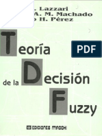 Teoria de La Decisión Difusa