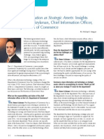 Data and Information as Strategic Assets