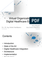 Virtual Agent Organizations Supporting Disease Specific Communities