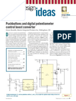 Pushbuttons and Digital Potentiometer
