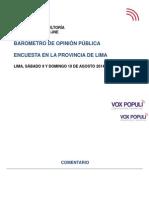 2014-08 Lima Informe Final