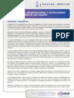 Salud Mental Infantil Universidad de Chile