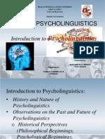 Edd 599 Psycholinguistics