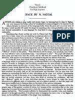 Nicola Vaccai-Practical Method of Italian Singing- High Soprano