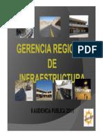 Gerencia Regional de Infraestructura
