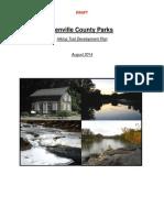 Renville County Parks hiking trail development plan