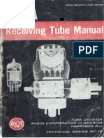 RC18  - RCA Radio Receiving Tube Catalog 1956