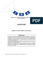 CMA Guideline - Safety Around Belt Conveyors Rev 02-2011