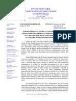 COIB Press Release & Order (SIDA)