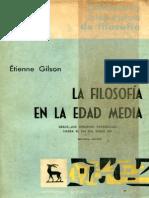 E. Gilson La Filosofia en La Edad Media Prologo Intr. Cropped