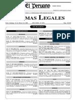 Reglamento de Ley 28294