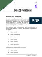 Cap. IV Modelos de Probabilidads