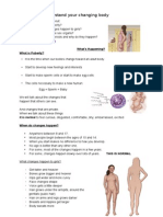 2 - puberty female notes - teacher