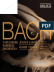 Bach - Cantatas BWV 54 & 170