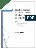 Calibracion Del Tunel de Impacto