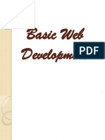 Basic Web Development
