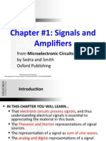 Signals and Amplifiers