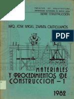 materiales y procedimientos de construccion UANL